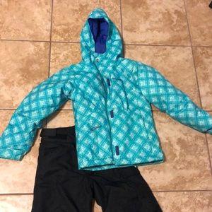 Girl's ski gear